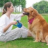 Galapara Retrattile a Piombo per Cani, 6.8ft Estensibile Pet Leads per Cani Piccoli di Taglia Media Allenamento Walking Jogging Retrattile Guinzaglio per Animali Domestici