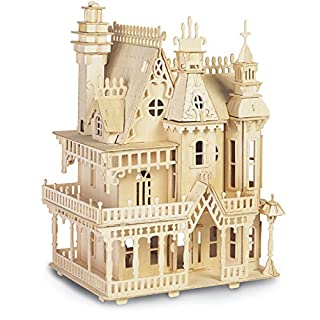 Quay Fantasy Villa Woodcraft Construction Kit FSC