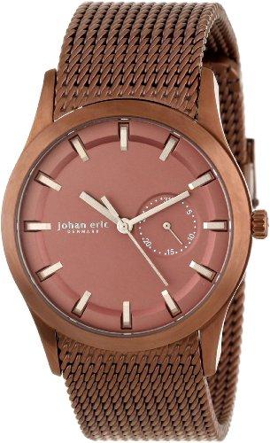 Johan Eric JE1300-05-005 - Reloj de pulsera hombre, acero inoxidable, color Marrón
