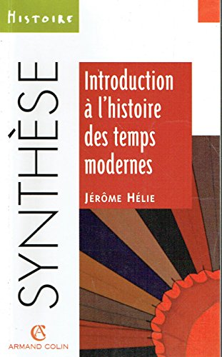 Introduction à l'histoire des Temps modernes