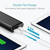 Anker PowerCore 20100 - Ultra High Capacity Power Bank with one of the Most Powerful 4.8A Output, PowerIQ Technology for iPhone 7 /6s /SE, iPad and Samsung Galaxy S8 / S7 and More (Black) Bild 6