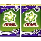 ARIEL Carton de 105 doses de lessive en poudre Ariel Professionnel