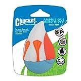 Chuckit! CU187101 Amphibious Duck Diver, Schwimmkugel kompatibel mit Werfern, S