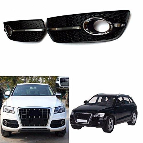 Chrome Line (Viviance Fog Light Cover S Line Grill Black Abs Plastic Und Chrome Für Vw Audi Q5 2009-2011)