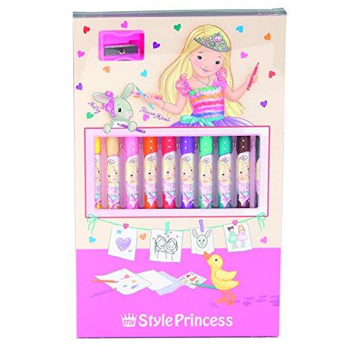 My Style Princess Coloured Pencil Set
