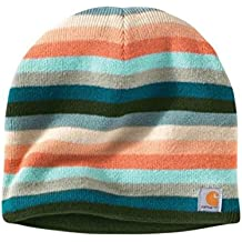 Carhartt Mujer Gorra Beanie - Teal Blue Casquillo Acrílico logotipo CHWA002448