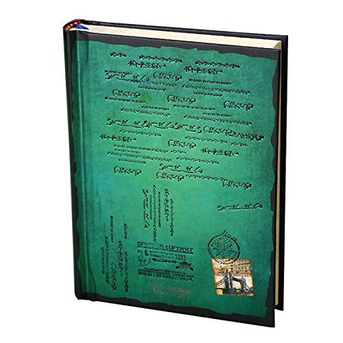 Foto de Tinksky Tapa dura vendimia diario estilo Retro portátil revista Bloc de notas - tamaño S (verde)