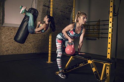 Fringoo - Legging de sport - Femme multicolore Multicoloured Taille Unique Galaxy - set