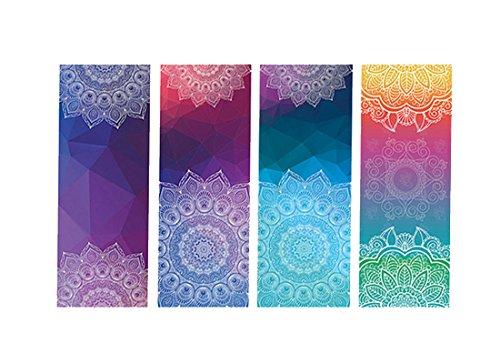 DOXUNGO Dicke Rutschfeste Yoga Handtücher,Rutschfest saugfähig und hitzebeständig Premium Yogatuch, Yoga Towel