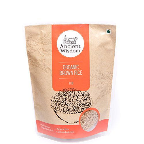 Ancient Wisdom Organic Brown Sonamasuri Rice 1 KG
