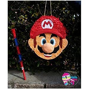 Pinata Mario Bros. Pinata Super Mario (Ent) (Optionaler Stick)