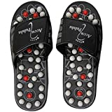 #4: Acupressure Massage Slippers Leg Foot Massager