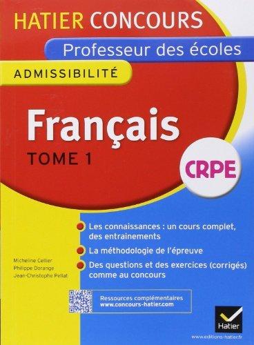 Concours professeur des écoles 2015 - Français Tome 2 - Epreuve écrite d'admissibilité de Véronique Boiron (16 juillet 2014) Broché