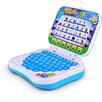 Juguete educativo de ordenador para niños con ordenador portátil para aprender a aprender el alfabeto con imágenes de sonido y ortografía color al azar
