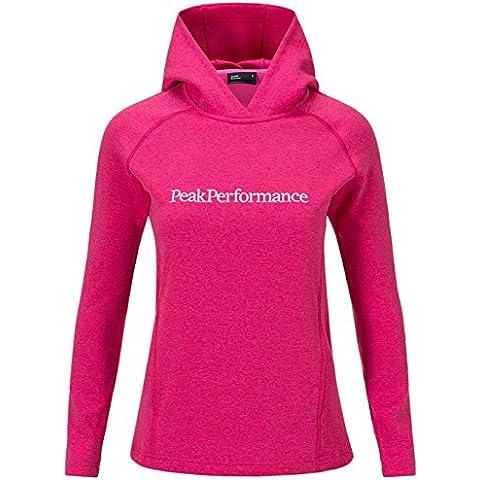 Felpa con cappuccio da Peak donne di prestazione Rosa rosa L