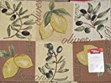 Better Homes and Gardens Lemons and Olives Placemat - Best Reviews Guide