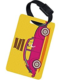 The Crazy Me VINTAGE CAR LUGGAGE TAG (SET OF 2)