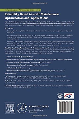 Reliability Based Aircraft Maintenance Optimization and Applications (Aerospace Engineering)