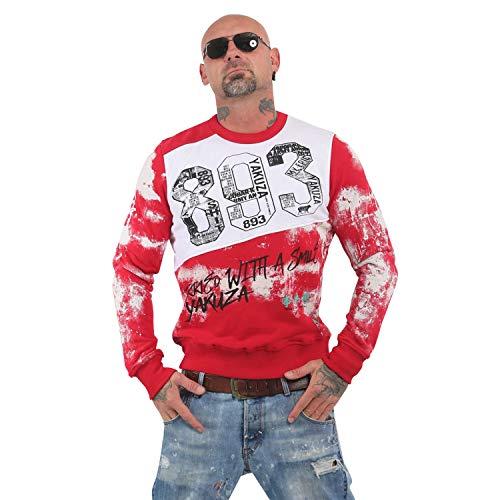 Yakuza Herren Burried Pullover Sweater
