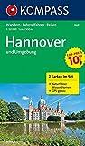 Hannover und Umgebung: Wanderkarten-Set mit Naturführer in der Schutzhülle. GPS-genau. 1:50000 (KOMPASS-Wanderkarten, Band 848)