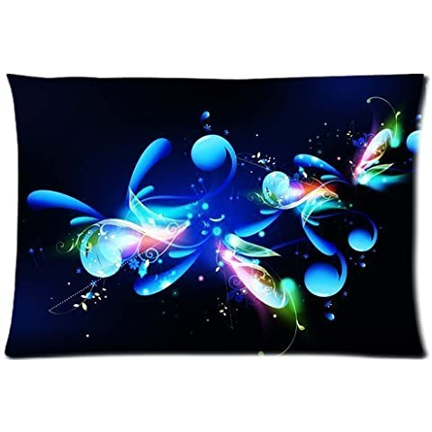 Abstract Flower Background Comfortable Cotton&Polyester Pillowcase/Pillow slip/Cushion case/pillow cover(Two Side