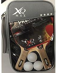 OEM G0500143 - Set de ping-pong con 6 piezas, color negro