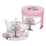 Die besten Paperproducts Design-Teekannen - PPD Love Tree Tea-for-One-Set, Tee Kanne, Tasse in Bewertungen