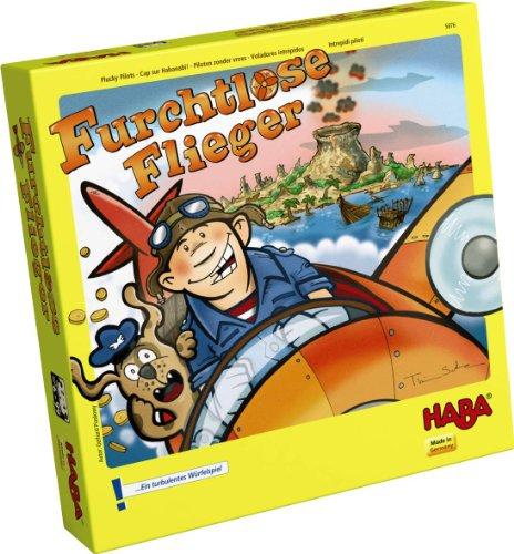 Haba 5876 - Intrepidi piloti, Gioco in scatola