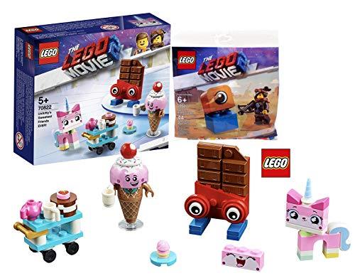 LEGO The Movie 2 70822 Einhorn Kittys niedlichste Freunde Aller Zeiten! + The Movie 2 Lucy vs. Alien Invader Set 30527