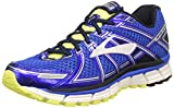 Brooks Adrenaline GTS 17 Scarpe da Corsa Uomo, Blu (Electric Blue/Black/Nightlife) 42 EU