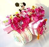 Windeltorte Disney pink