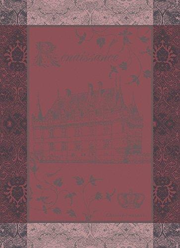 Garnier-Thiebaut Geschirrtuch CHATEAU RENAISSANCE framboise 56 x 77 cm