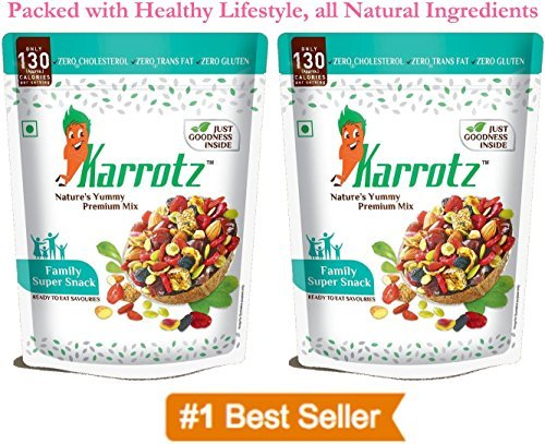 Karrotz – Healthy Mix of Top Quality Berries, Fruits, Nuts,...