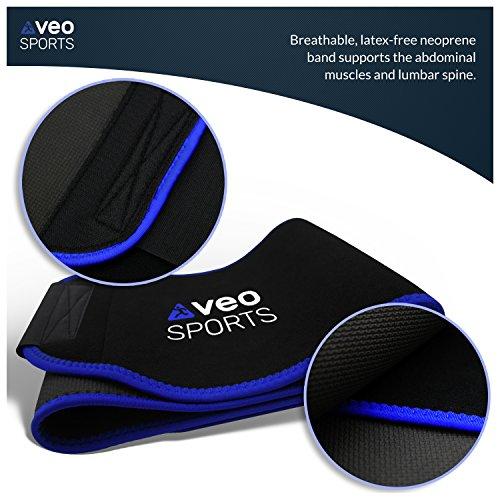 VeoSports Bauchweggürtel Fitness für Männer und Frauen - 6