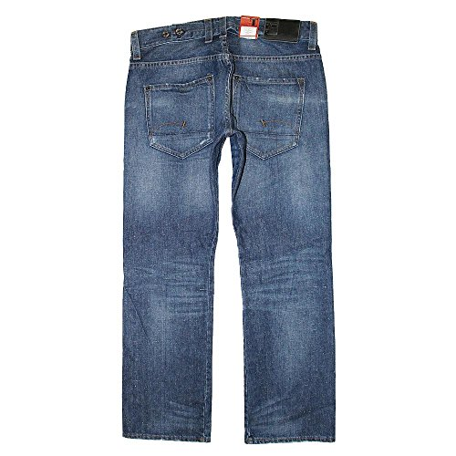 G-Star, Herren Jeans Hose, Radar Straight FO,Denim,blue used [17366] Blue Used