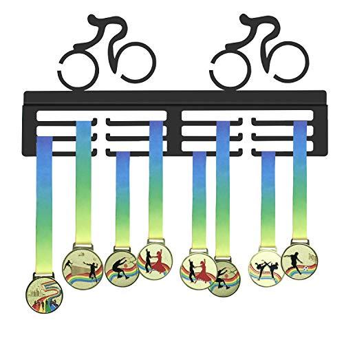 WEBIN Radsport Radfahren Medaille Halter, Radfahrer Medaillen Aufhänger, Sport Trophy Display Rack, Auszeichnungen Halter für Bike Race -