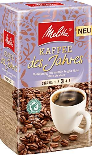 Melitta Gemahlener Röstkaffee, Filterkaffee, 100% Arabica, vollmundig mit sanfter Feigen-Note, Stärke 3, Kaffee des Jahres 2019, 1er Pack (1 x 500 g)
