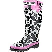 Cotswold Ladies Moo Wellington Rubber Sole/Upper Wellies Boot Women Footwear