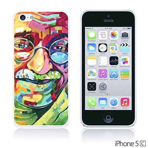 OBiDi - Celebrity Star Hard Back Case / Housse pour Apple iPhone 5C - Che Guevara Gandhi