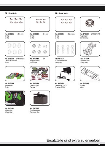 Akron Monstertruck 1:10 BL 4WD Lipo 2,4G- Allrad, Brushless, Akku, 60Kmh, Aluchassis, spritzwasserfest, Öldruckstoßdämpfer, Kugellager, Fahrwerk einstellbar, fahrfertig - 11