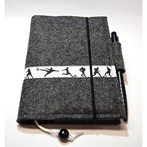 Kalender/Notizbuchhülle aus Filz A6