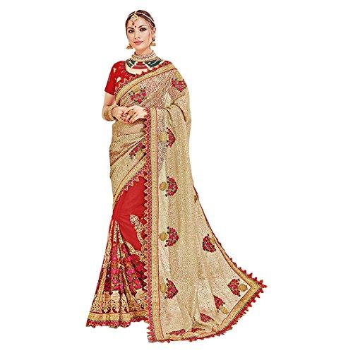 Rot Black Friday Traditionelle Braut Designer neueste Zeremonie Hochzeit Partei Saree Sari Jari Stickerei Designer Bluse 615