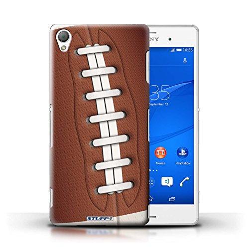 Coque en plastique pour Sony Xperia Z3 Collection Balle Sportif - Football Football américain