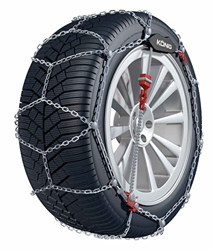 Catena da neve re – die 9 mm della catena da neve con selb stspann ystem (1 stop per il montaggio) – omologate per chrysler 300 c touring sedan | con il pneumatico misura 215/60 r16 michelin primacy energy saver nel set con alta qualità bb di ep guanti