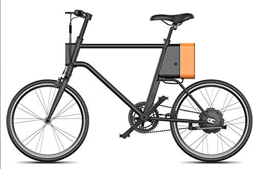UMA by Marnaula – La City e-Bike Más Ligera del Mundo - Bateria Samsung 36V 6Ah (Space Gray)