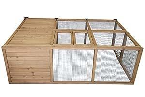 Point-zoo Enclos pliable pour lapin ou animal de petite taille XL