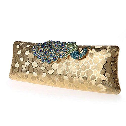 Pacchetto Diamante pacchetto pavone Velcro/ borsa da sera moda/festa-B B