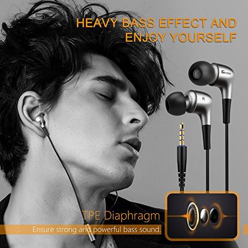 Zoom IMG-3 gritin auricolari in ear metallico