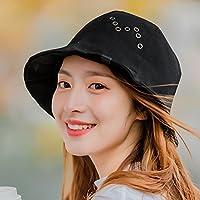 LTQ&qing Se?ora pa?o sombrero primavera y verano pescador sombrero salvaje coreano sol sombrero cuenca , C