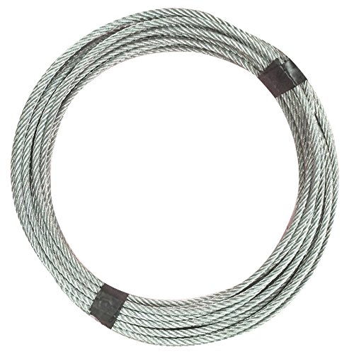 tractel Maxiflex J5Draht Seil mit Haken, 20m, 1